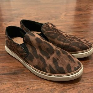 A New Day Leopard Slip Ons